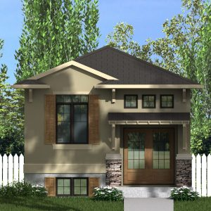 CRAFTSMAN HOME PLANS - ATKINSON