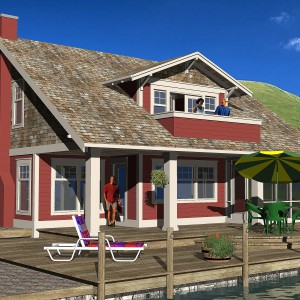 CRAFTSMAN HOME PLANS - C-SERIES
