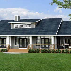 CRAFTSMAN HOME PLANS - E-SERIES