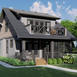 CRAFTSMAN HOME PLANS - H-SERIES