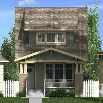 CRAFTSMAN HOME PLANS - REYNOLDS-1484