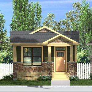 CRAFTSMAN HOME PLANS - CONNAUGHT-968