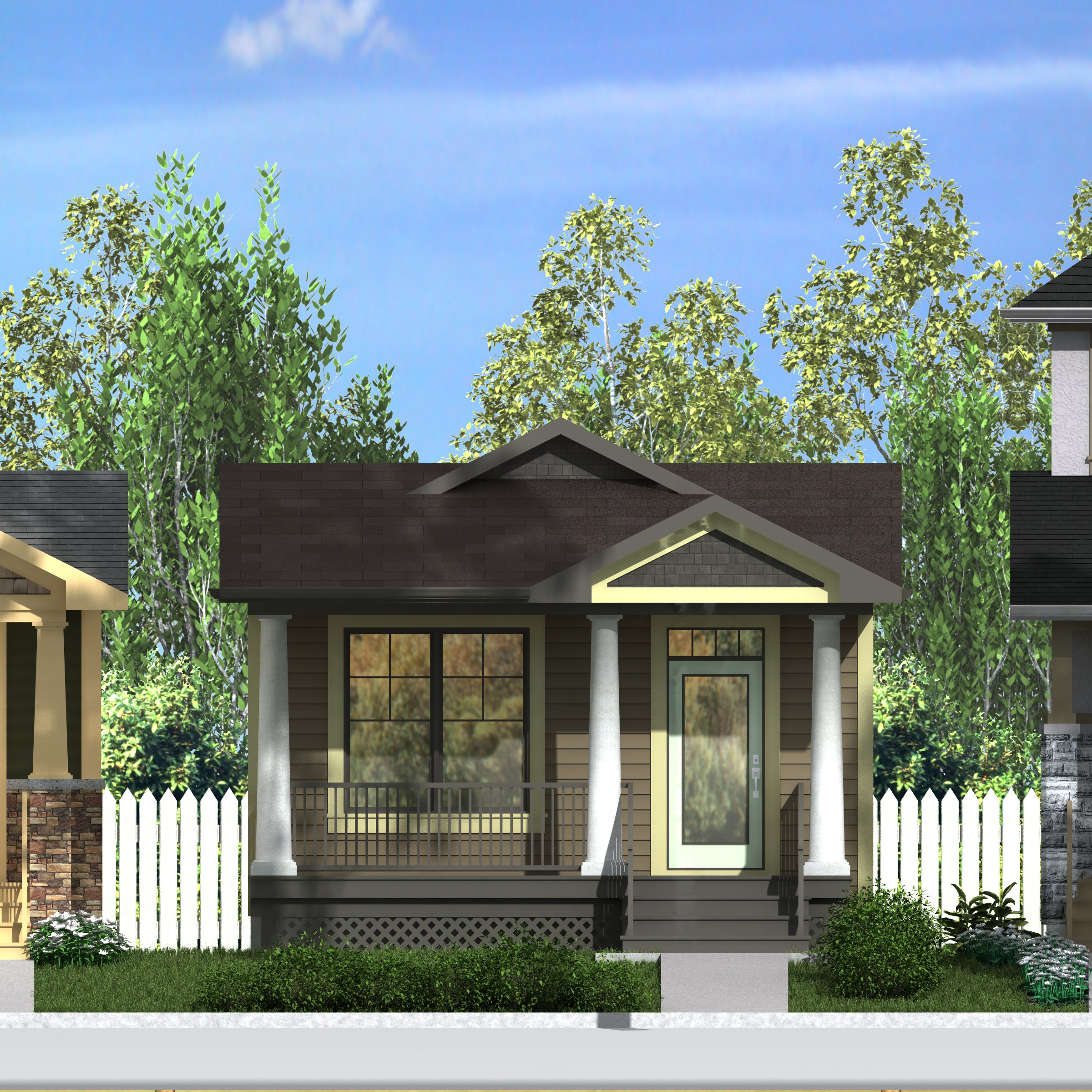Craftsman elphinstone 1000 robinson plans for Robinsons homes design collection