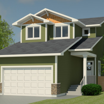 CRAFTSMAN HOME PLANS - FAIRVIEW-1654
