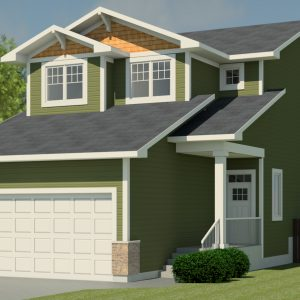 CRAFTSMAN HOME PLANS - FAIRVIEW-1670