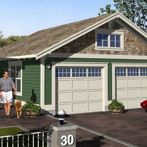 CRAFTSMAN GARAGE PLANS - G-2