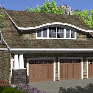 CRAFTSMAN GARAGE STUDIO PLANS - GS-776