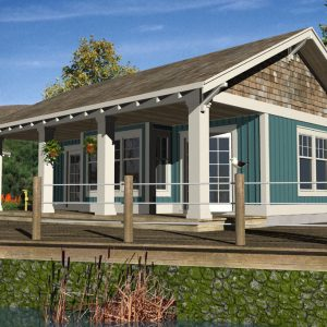 CRAFTSMAN GUEST HOUSE PLANS - GHC