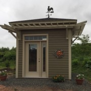 GARDEN SHED (Client Designed)- ANNAPOLIS ROYAL, NOVA SCOTIA