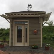 GARDEN SHED (Client Designed)- ANNAPOLIS ROYAL, NOVA SCOTIA