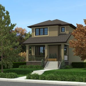 CONTEMPORARY HOME PLANS - HILLSDALE