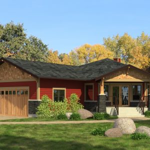 CRAFTSMAN HOME PLANS - M-SERIES