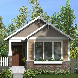 CRAFTSMAN HOME PLANS - MONTAGUE