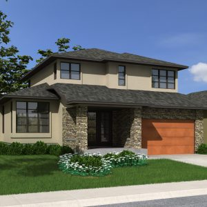 CONTEMPORARY HOME PLANS - ARCOLA