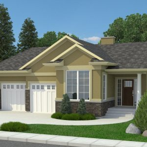 CRAFTSMAN HOME PLANS - TRUESDALE