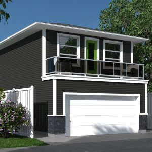 CONTEMPORARY GARAGE STUDIO PLANS - VIRON
