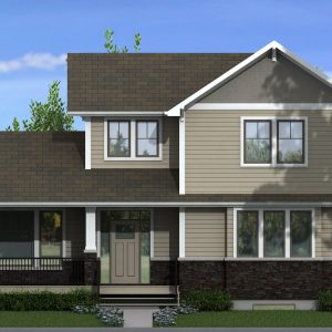CRAFTSMAN HOME PLANS - WASCANA