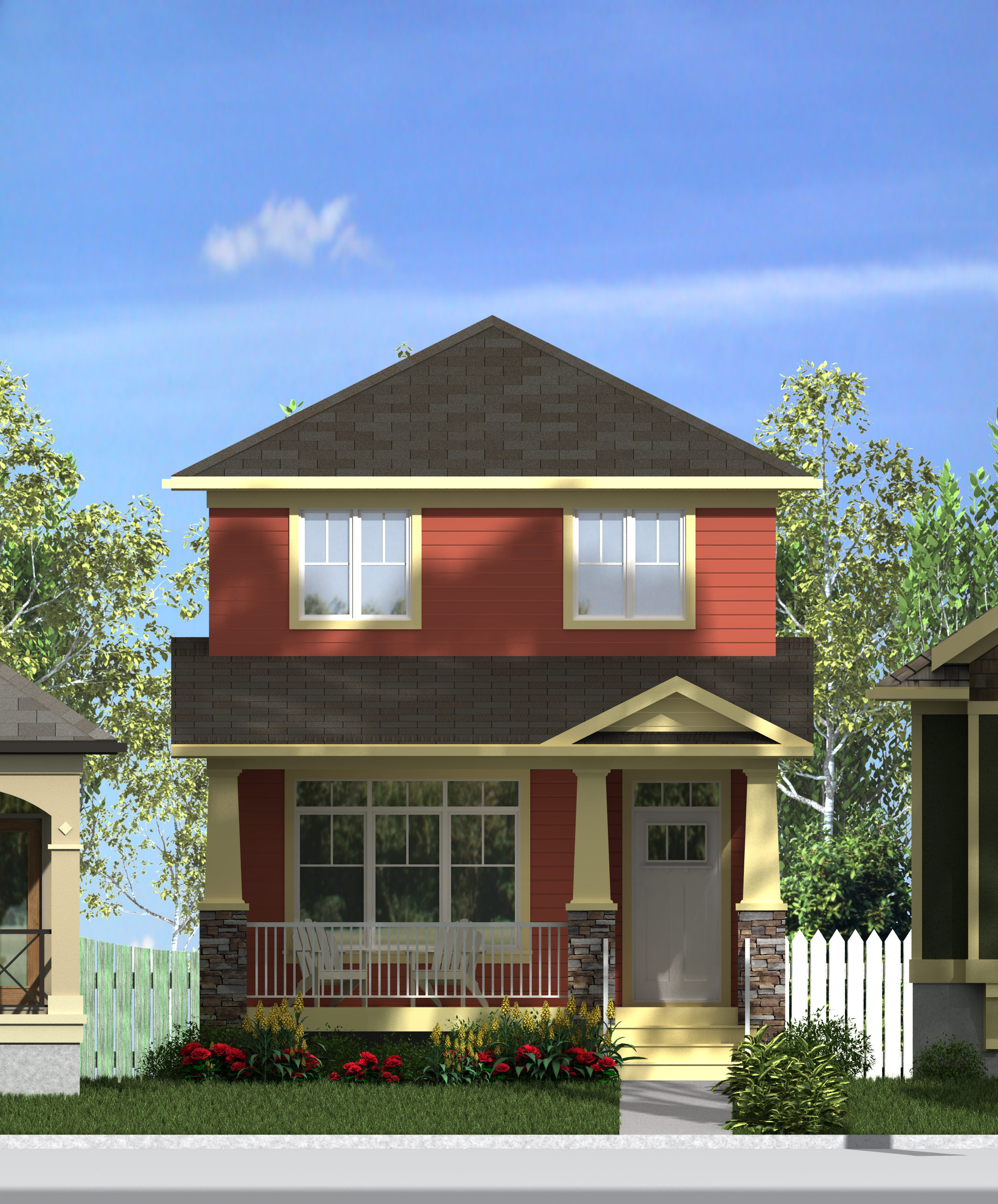 CRAFTSMAN HOME PLANS - WALKER