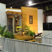 TINY HOUSE PLANS - CONTEMPORARY DRAGONFLY-20 - EXTERIOR 3 AT REGINA HOME SHOW 2016