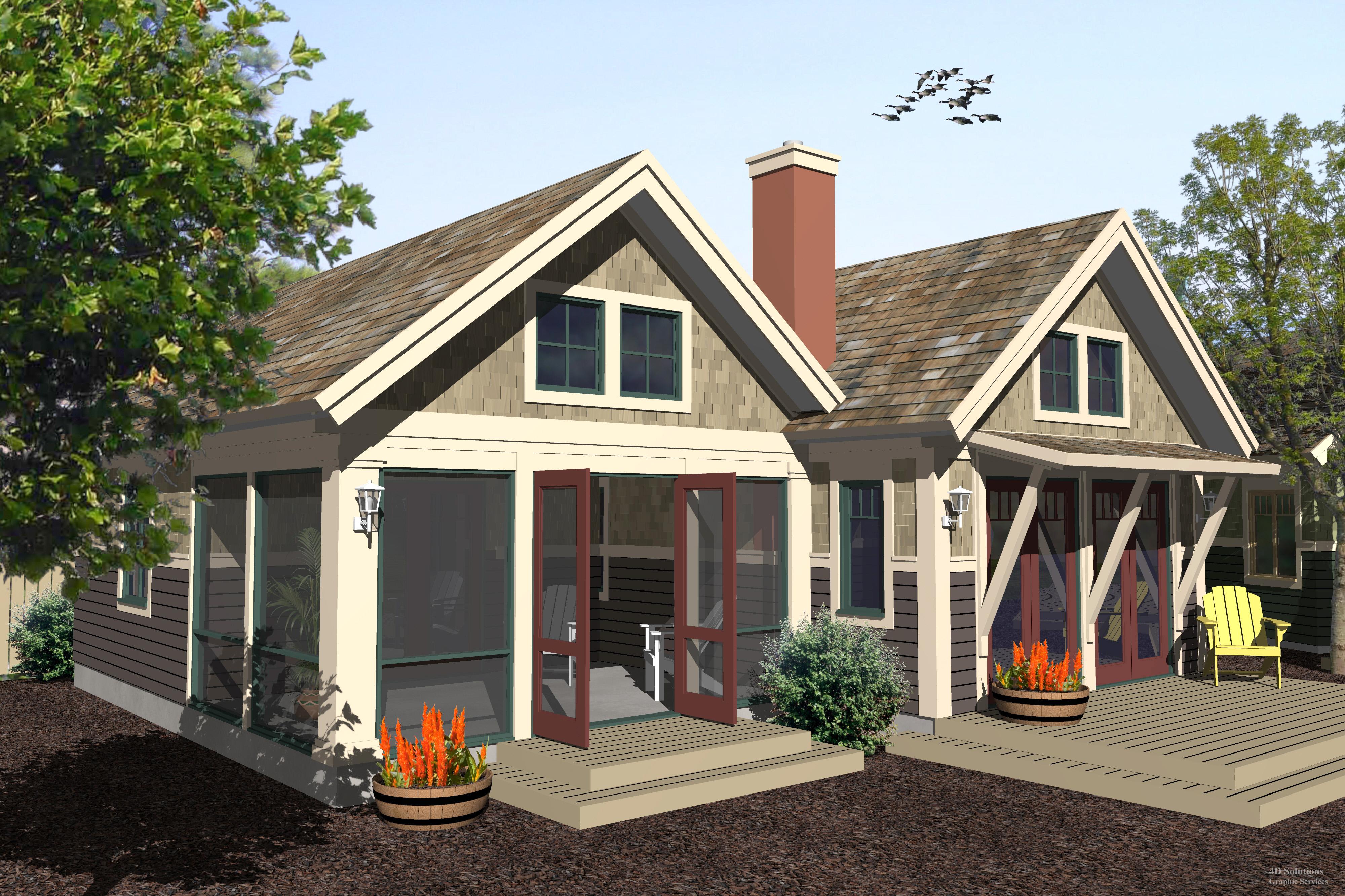 Craftsman ww ga4 800 robinson plans for Robinson house plans