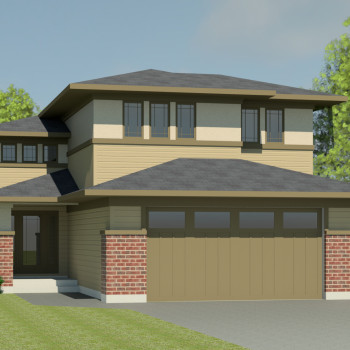 PRAIRIE HOME PLANS - CLEARBROOK-1540