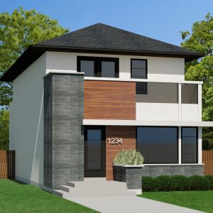 CONTEMPORARY HOME PLANS - JUNO