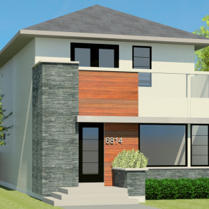CONTEMPORARY HOME PLANS - JUNO-1512
