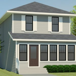 CRAFTSMAN HOME PLANS - LUNA-1512