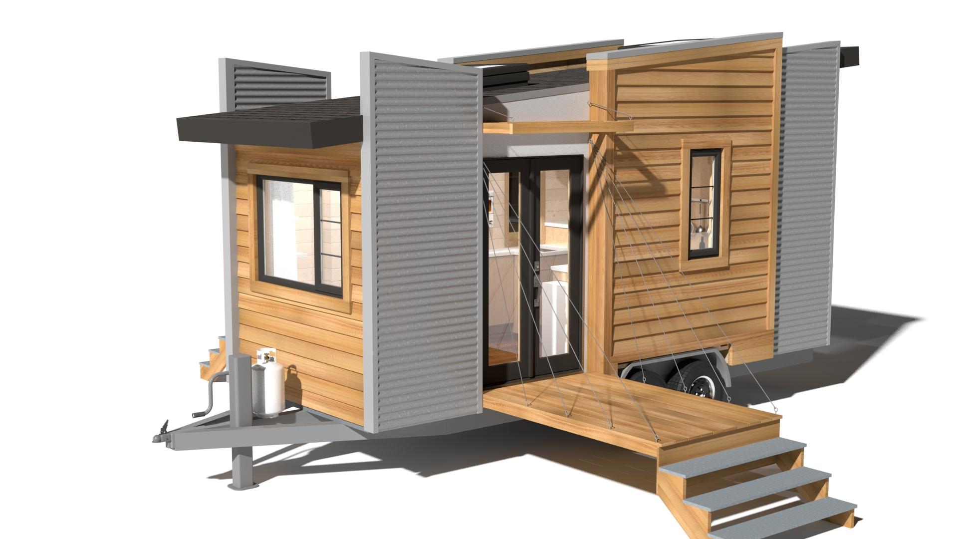 Tiny Home Designs: Contemporary Dragonfly-20