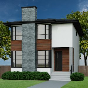 CONTEMPORARY HOME PLANS - WATERBANK