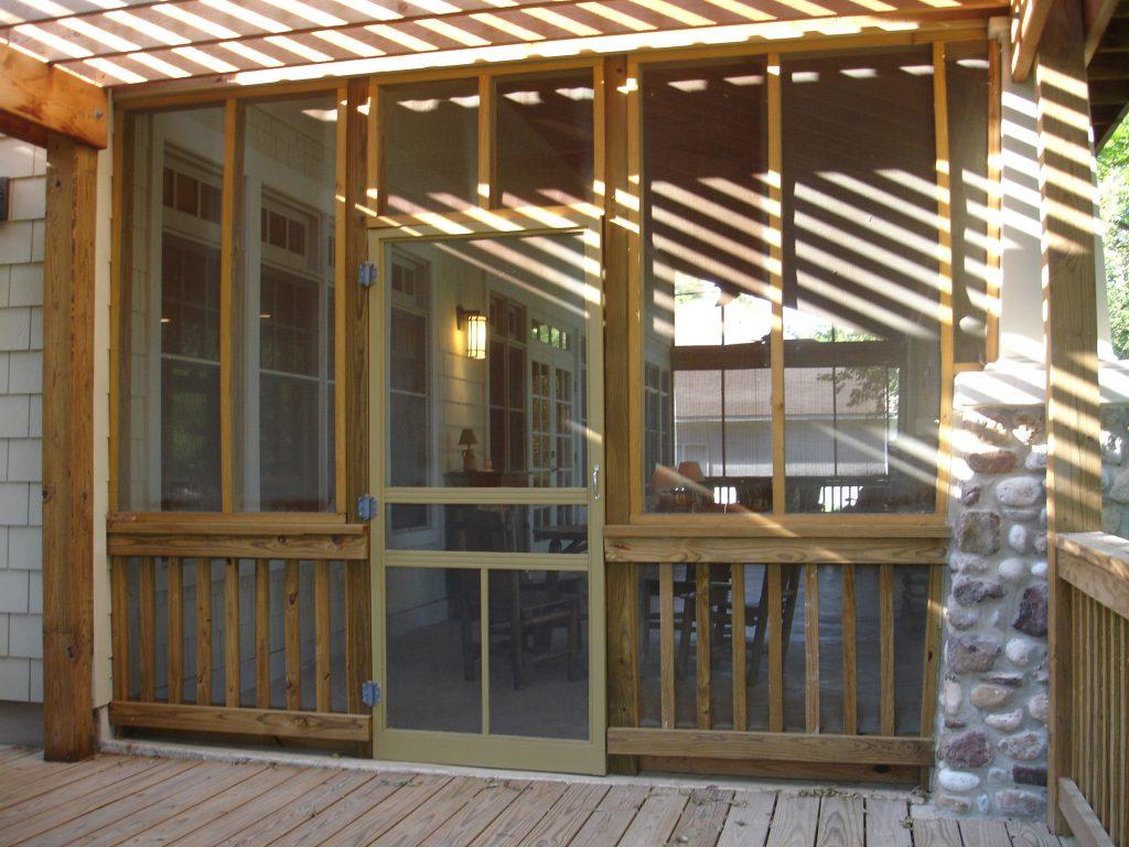 Craftsman igs 4049 robinson plans for Craftsman screened porch