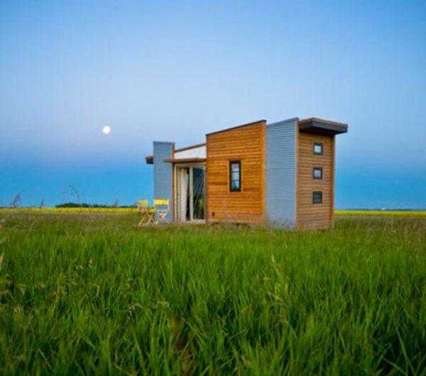 Tiny House Plans - Contemporary Dragonfly-20 - Saskatchewan