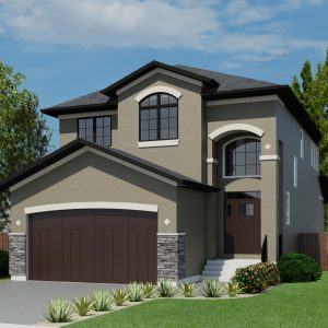 MISSION HOUSE PLANS - SCOTTSDALE