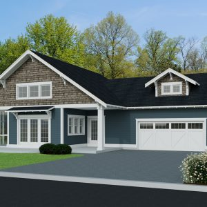 CRAFTSMAN HOME PLANS - BG-1275
