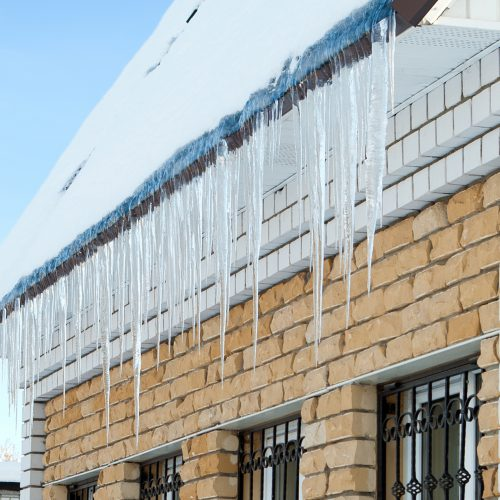 CUSTOM HOME DESIGN - ROOFING - ICE DAMMING