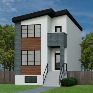 CONTEMPORARY HOME PLANS - AQUILA-1714