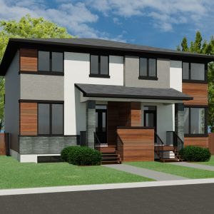 CONTEMPORARY HOME PLANS - CARINA-1680