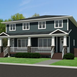 CRAFTSMAN HOME PLANS - MUSCA-1816