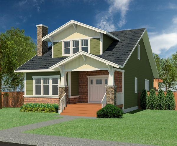 CRAFTSMAN HOME PLANS – BRAWNER