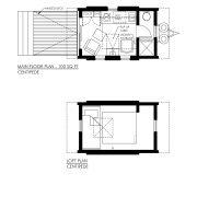 CONTEMPORARY TINY HOUSE PLANS - CENTIPEDE - 01 FLOOR PLANS