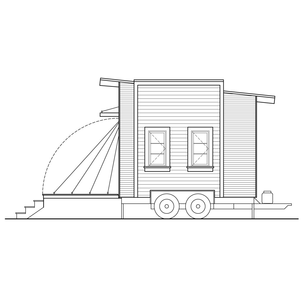 Tiny Home Designs: Contemporary Centipede-100