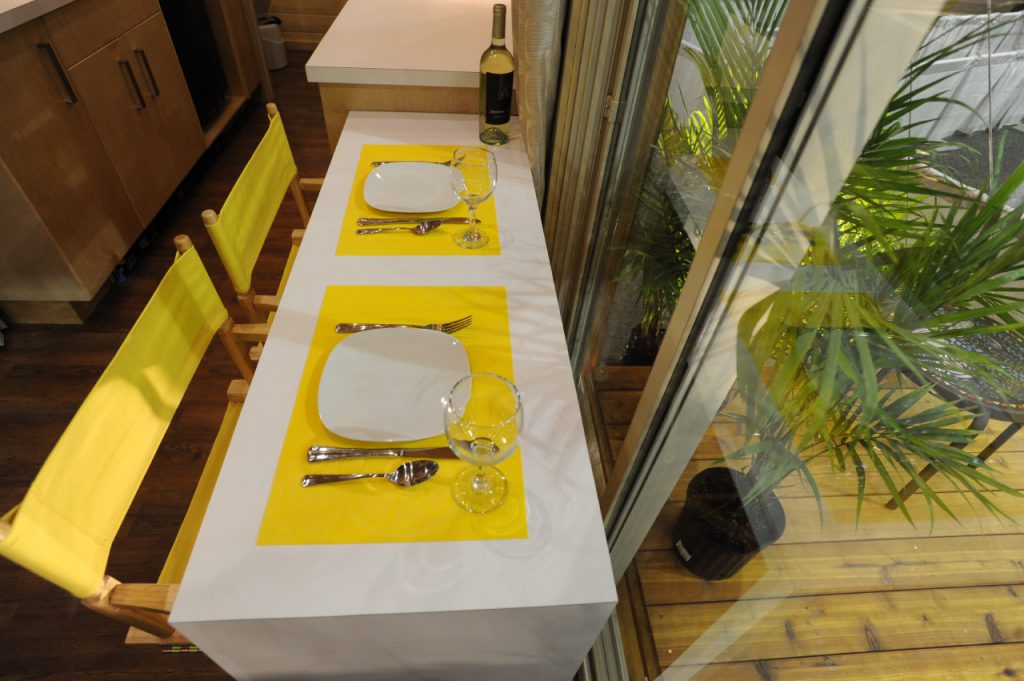 TINY HOUSE PLANS - CONTEMPORARY DRAGONFLY-20 - TABLE