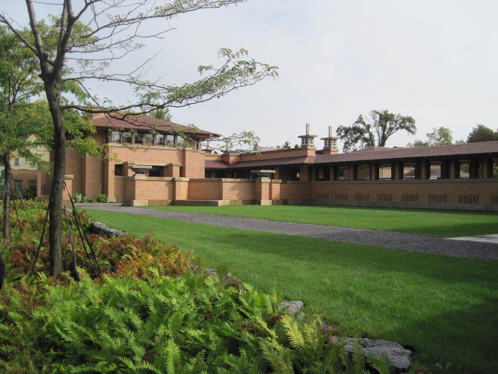 PRAIRIE HOME PLANS - FRANK LLOYD WRIGHT - MARTIN HOUSE - BUFFALO, NEW YORK