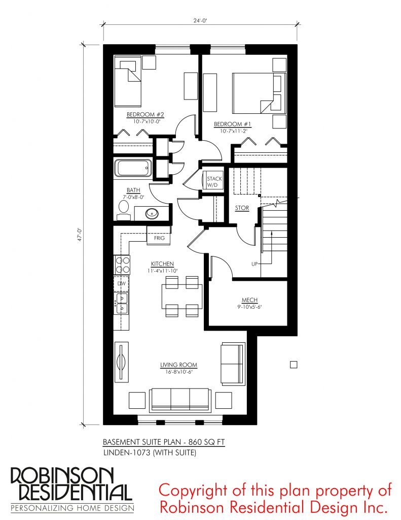 Craftsman Linden-1073 (with Suite)