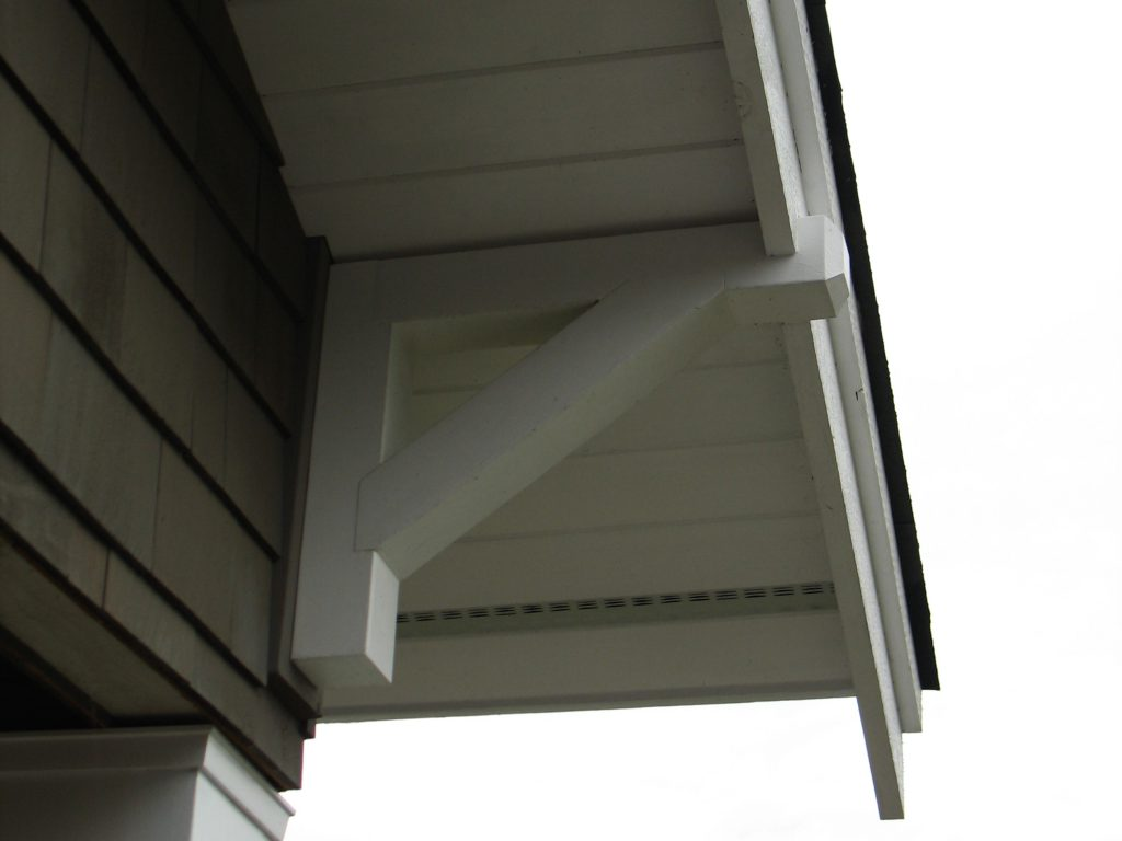 CRAFTSMAN HOME PLANS - I-3212 - EAVE BRACKET DETAIL