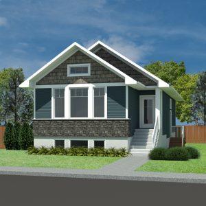 CRAFTSMAN HOME PLANS - LINDEN-1073