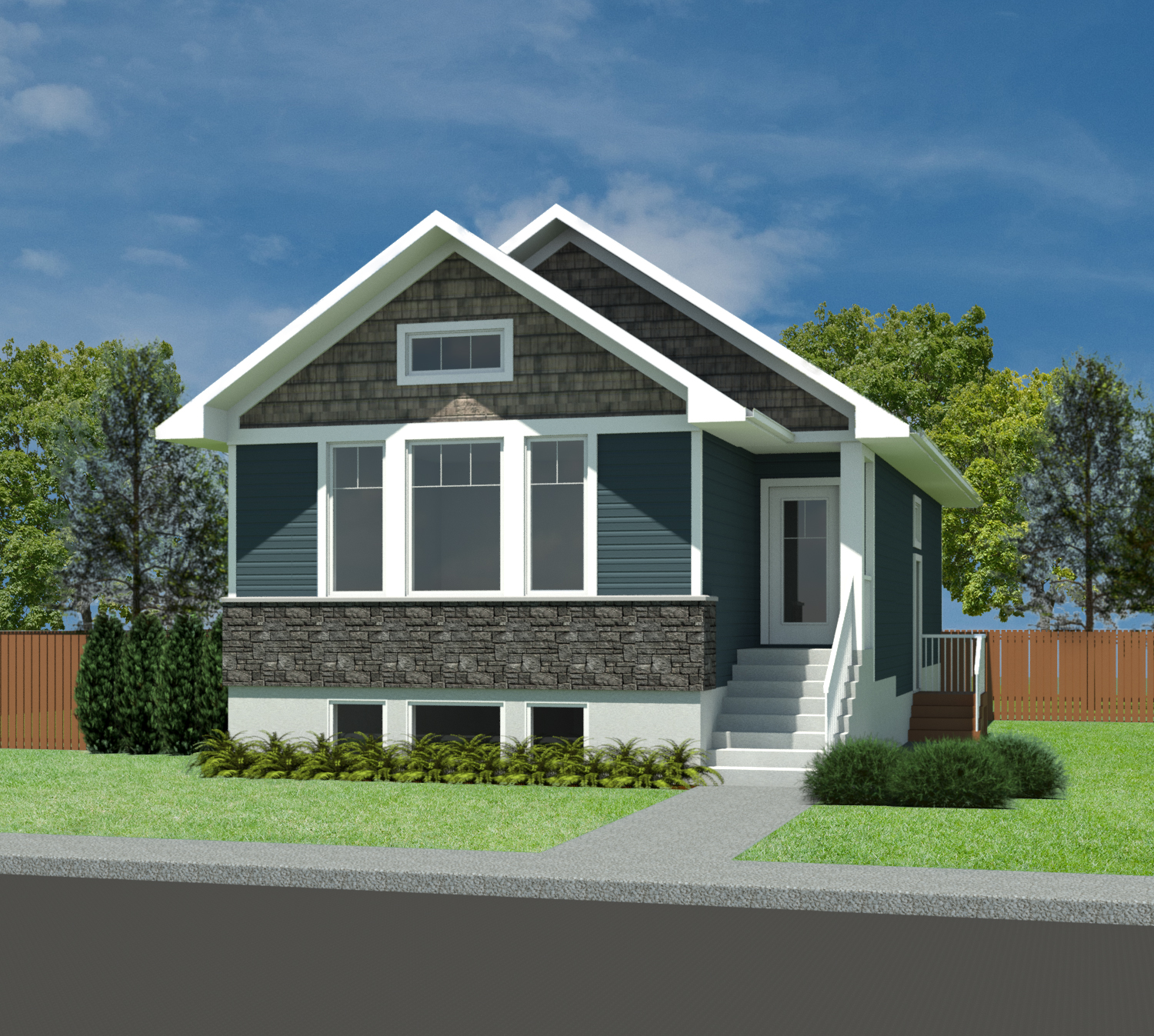 Tiny Home Designs: Craftsman Linden-1073