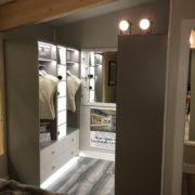CONTEMPORARY HOME PLANS – NOKOMIS-1275 – BEDROOM WALK-IN CLOSET – MINNEAPOLIS, MINNESOTA