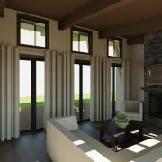 CONTEMPORARY HOME PLANS – NOKOMIS-1275 – LIVING ROOM