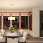 PRAIRIE HOME PLANS - LOWRY-3512 - DINING ROOM